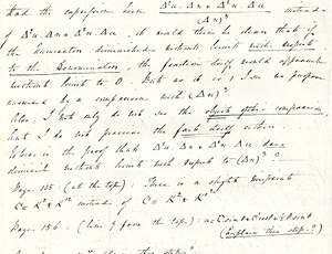 Ada Lovelace's Letter